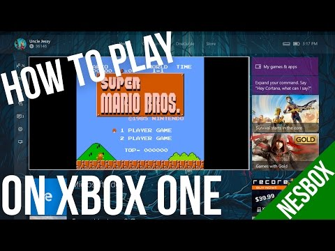 How To Play NES ROM Games On Your Xbox One | NESBOX