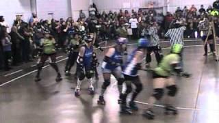 Black Heart Maidens vs Toxic Cherries 2010