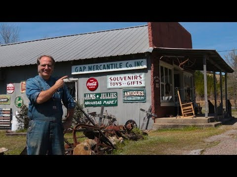 Pa Mac's Gap Mercantile & Cottage In Caddo Gap, Arkansas