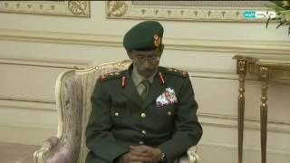 أخبار الإمارات - سلطان القاسمي يستقبل رئيس أركان القوات المسلحة لبحث المشاريع العسكرية بالشارقة