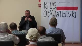 Grzegorz Miecugow go�ciem Klubu Obywatelskiego w Ostro��ce