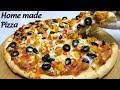 - pizza recipe / home made chicken pizza