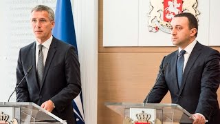 NATO Secretary General Joint Press Point with Prime Minister of Georgia, 27 AUG 2015