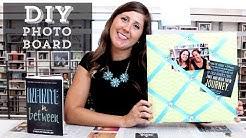 DIY: How to Make a Photo Memory Board