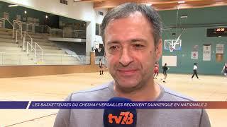 Yvelines | Les basketteuses du Chesnay-Versailles reçoivent Dunkerque en Nationale 2