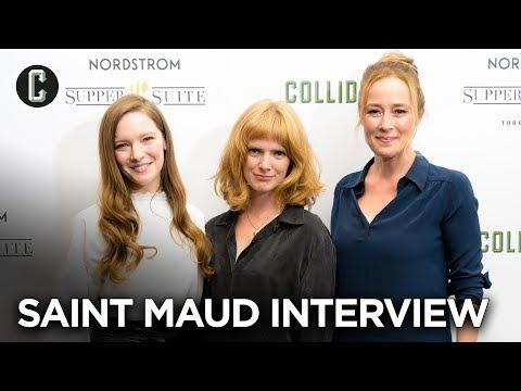 Saint Maud Interview: Jennifer Ehle, Morfydd Clark & Rose Glass