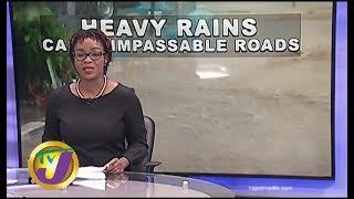 TVJ News: Heavy Rains Leaves Several Roads Impassable - September 25 2019