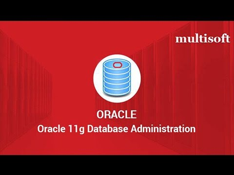 Oracle 11g Database Administration Certification Training ...