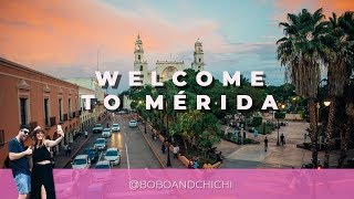 Welcome to Mérida - A Hyper-Lapse and Slow-Motion Video