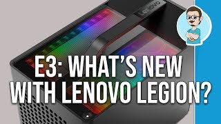 E3 Announcements | Lenovo Legion Gaming Desktop & Laptop Overview!