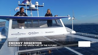 Energy Observer: The world's first hydrogen-powered boat