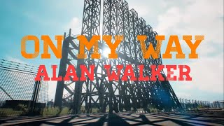 Gambar cover Alan Walker - On My Way [PUBG Mobile Music Video]