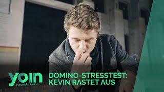 AM ROLLSTUHL GEFESSELT – Kevins Kampf mit den Nerven beim Domino