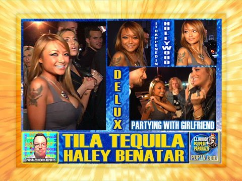 Tila Tequila And Haley Benatar At Delux Youtube