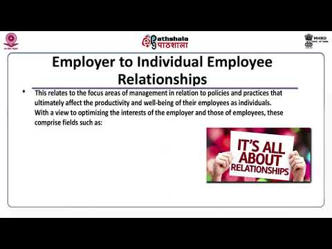 INDUSTRIAL RELATIONS: CONCEPT, SCOPE AND OBJECTIVES