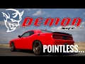 NOT another DODGE DEMON video...