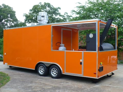 2016 BBQ Porch Concession Trailer - For Sale
