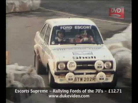 Escorts Supreme - Rallying Fords of the 70
