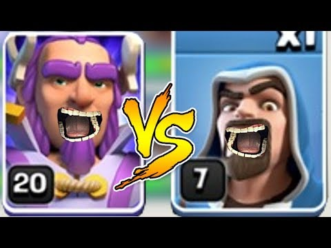 WIZARD Vs. WARDEN! Clash Of Clans