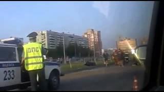 Жуткая Авария в Витебске  Пострадали люди  УЖАС