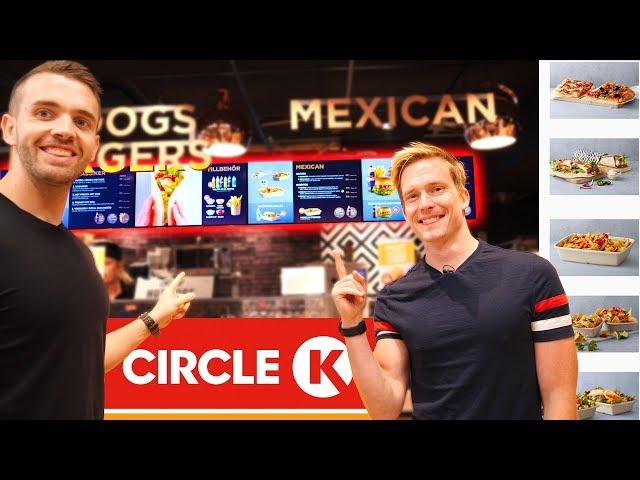 Kan vi äta upp ALLT på Circle K:s meny?