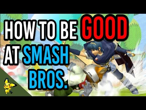 How to be GOOD at Super Smash Bros