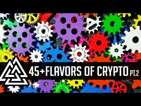 CryptoCurrency Market Visualized! 45+ Crypto Sectors Explained! Part 2