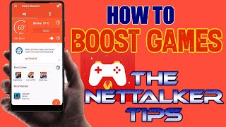 Game Booster Play Games Faster And Smoother | The NetTalker Tips screenshot 2