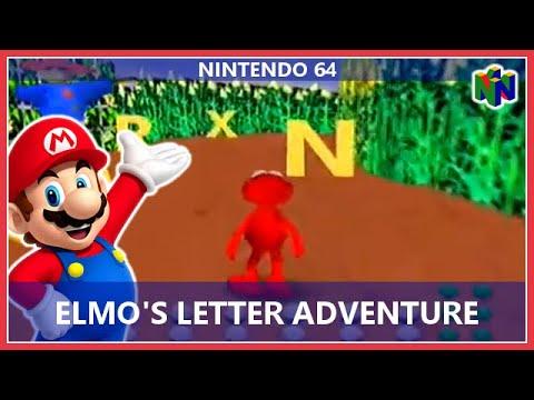 Elmo's Letter Adventure (Nintendo 64)