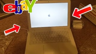 Unboxing Old MacBook from eBay! How to buy laptop cheap!