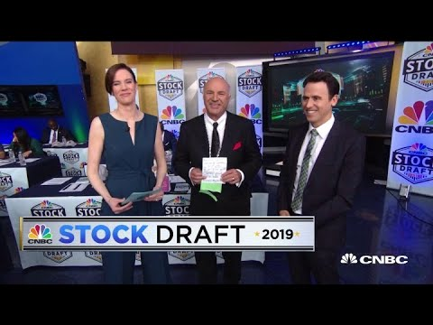Jim Cramer makes his predictions for the 2019 Stock Draft winner
