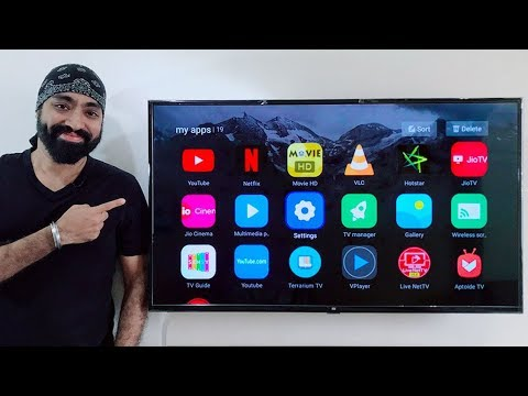 How to install Apps on the MI LED Smart TV 4/4A
