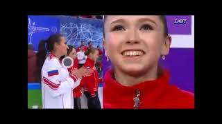 Валиева Мозалев Valieva 4Т- 3T – 3T 3S Mozalev VS Kamila Valieva Cascade Of 5 Jumps 4-3-3-3