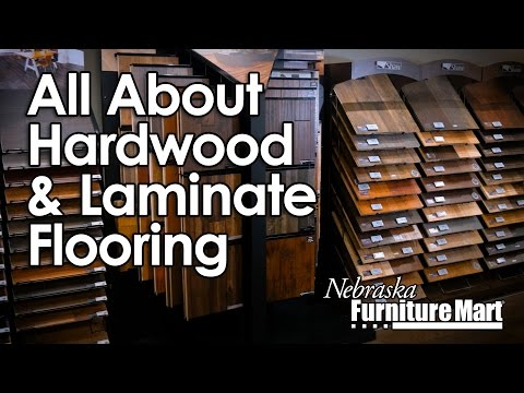 All About Hardwood and Laminate Flooring at Nebraska Furniture Mart