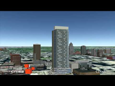 Cube Cities Flight of 3 New Condominium Projects Downtown Calgary