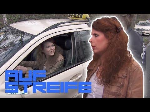 FAKE Taxifahrerin! Wo ist der Fahrer, der den Alarm ausgelst hat? | Auf Streife | SAT.1 TV