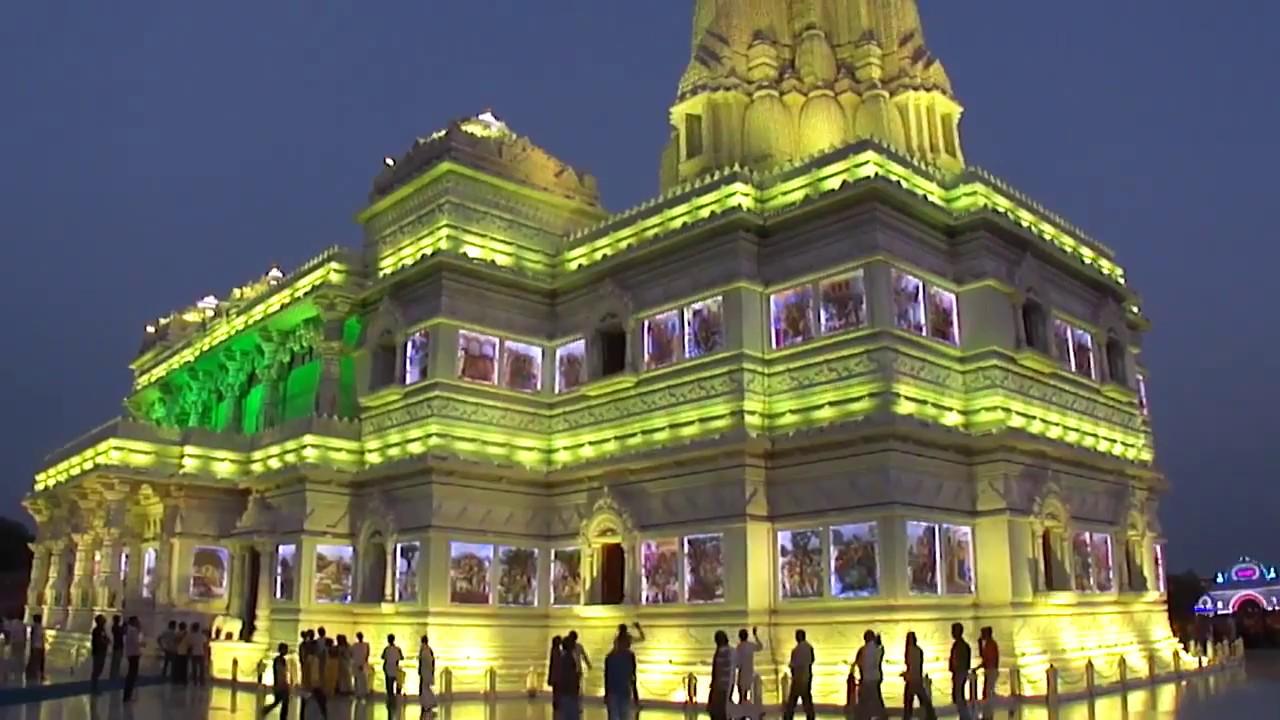 Prem Mandir Prem Temple प र म म द र Vrindavan Mathura
