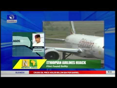 Ethiopian Airlines Hijack: Pilot Found Guilty
