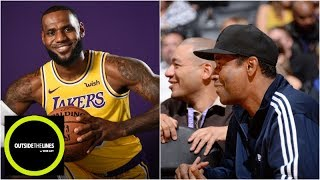 Why Denzel Washington called his accountant when LeBron signed with Lakers | OTL | ESPN