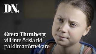 Greta Thunberg vill inte träffa Trump