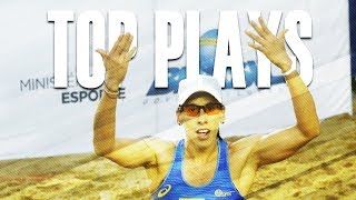 CBV Fortaleza 2018 • TOP WOMEN PLAYS #3 • Beach Volleyball World