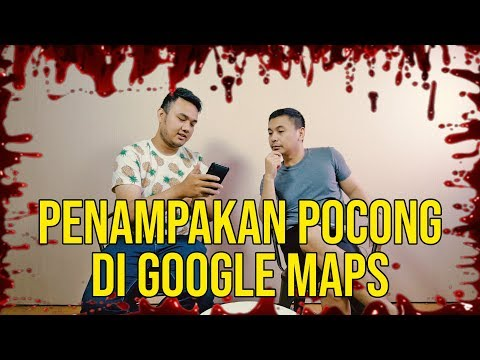 VIRAL, Penampakan Pocong di Google Maps