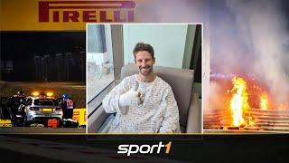 Horror-Crash: So geht es für Grosjean jetzt weiter | SPORT1