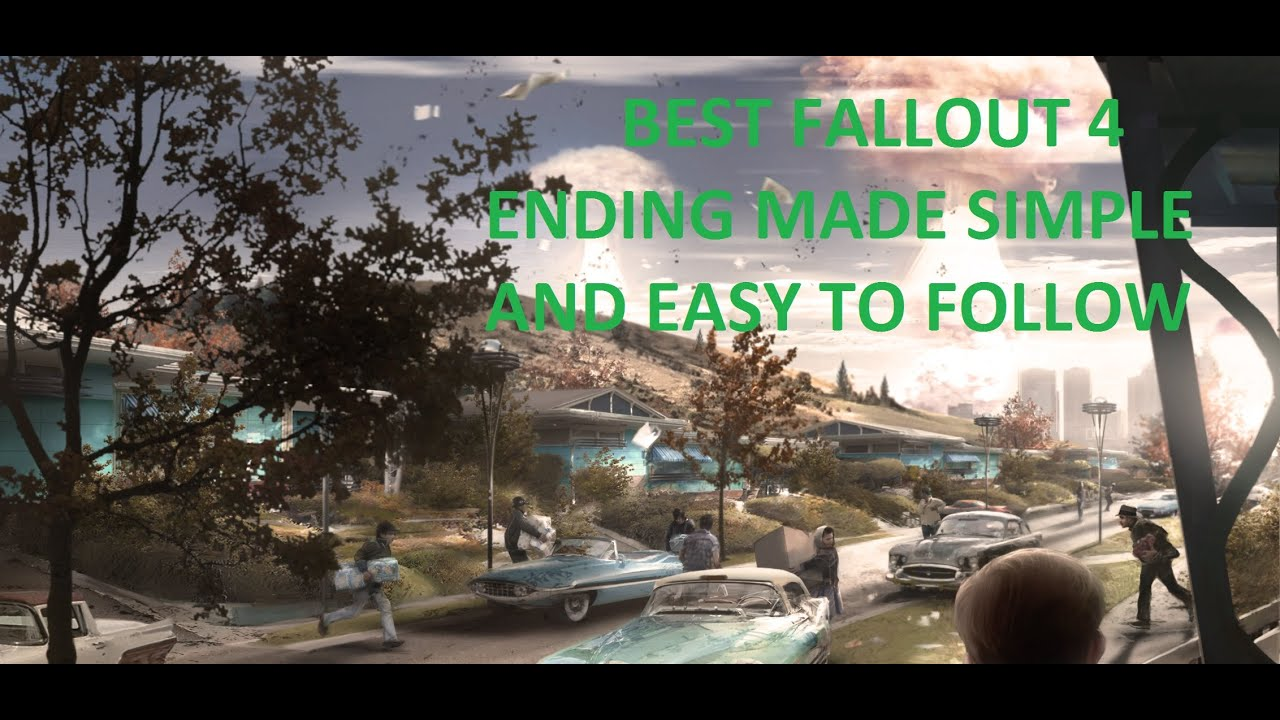 Fallout 4: the best ending made simple - YouTube