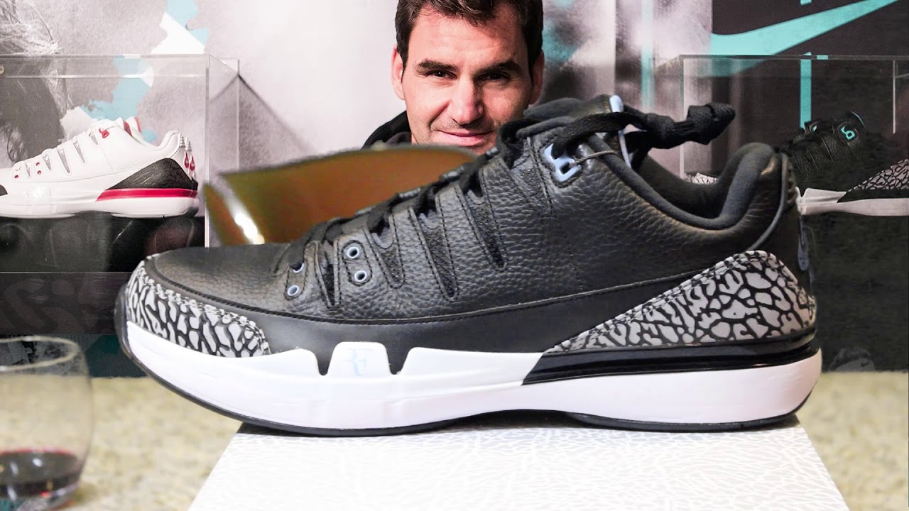 41e6e36de2c3 NIKECOURT ZOOM VAPOR RF X AJ3 ATMOS Shoe Review - YouTube
