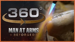 Tour of Man At Arms: Reforged Shop in 360° - The Machine Room!