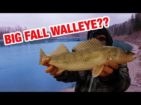 My LAST Fishing Trip 2020?! *Fall Walleye*