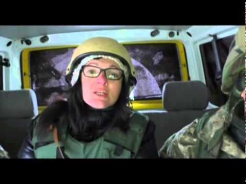 Луганская линия фронта: эксклюзивный репортаж. Факты недели, 25.01