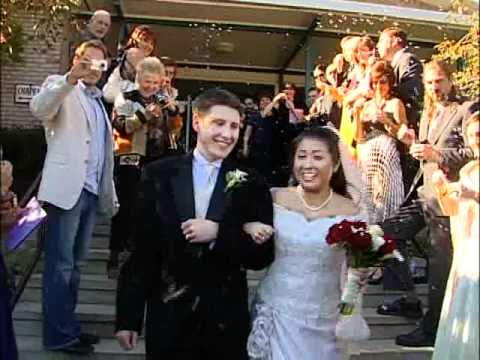 Wedding Recessional Video St. Mary's Church Mountainville New York NY Videographer - 동영상