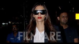 Sonam Kapoor returns to India after holidaying with Anand Ahuja in NYC